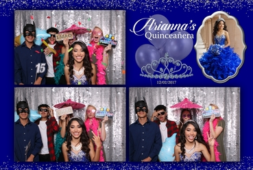 Photo Booth Quinceanera Rental